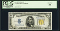 Small Size:World War II Emergency Notes, Fr. 2307 $5 1934A North Africa Silver Certificate. PCGS About New53.. ...