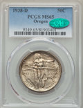 Commemorative Silver, 1938-D 50C Oregon MS65 PCGS. CAC. PCGS Population: (694/1047). NGCCensus: (365/847). CDN: $235 Whsle. Bid for problem-free...