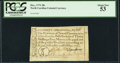 Colonial Notes, North Carolina December, 1771 30s PCGS About New 53.. ...