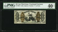 Fractional Currency:Third Issue, Fr. 1368 50¢ Third Issue Justice PMG Extremely Fine 40 Net.. ...