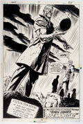 Original Comic Art:Splash Pages, Bob Brown and Frank Giacoia (as Tom Sutton) Warlock #7Splash Page 19 Doctor Doom Original Art (Marvel, 1973)....
