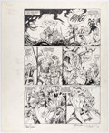 Original Comic Art:Panel Pages, P. Craig Russel and Michael T. Gilbert Elric #5 Story Page17 Original Art (Pacific, 1984)....