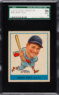 Baseball Cards:Singles (1930-1939), 1938 Goudey Jimmy Foxx #249 SGC 96 Mint 9 - Pop Two, None Higher! ....