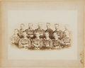 Autographs:Baseballs, 1885 Chicago White Stockings Team Photograph.. ...