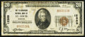 National Bank Notes:Missouri, Saint Louis, MO - $20 1929 Ty. 1 The Telegraphers NB Ch. # 12389....