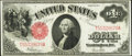 Large Size:Legal Tender Notes, T-A Block Fr. 39 $1 1917 Legal Tender Fine-Very Fine.. ...