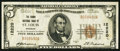 National Bank Notes:Missouri, Saint Louis, MO - $5 1929 Ty. 1 The Grand NB Ch. # 12220. ...