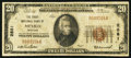 National Bank Notes:Missouri, Mexico, MO - $20 1929 Ty. 1 The First NB Ch. # 2881. ...