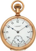 Timepieces:Pocket (pre 1900) , E. Howard & Co. 14k Gold L Size Split Plate Series XII...