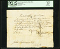 Colonial Notes, Connecticut Pay Table Office £2.4s Apr. 1, 1783 PCGS Very Fine 25.. ...
