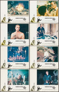 "Movie Posters:Science Fiction, The Omega Man (Warner Brothers, 1971). Lobby Card Set of 8 (11"" X14""). Science Fiction.. ... (Total: 8 Items)"