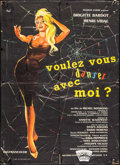 "Movie Posters:Foreign, Come Dance with Me! (UFA, 1959). French Moyenne (23.5"" X 31.5"").Foreign.. ..."