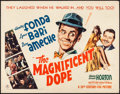 "Movie Posters:Comedy, The Magnificent Dope (20th Century Fox, 1943). Half Sheet (22"" X28""). Comedy.. ..."