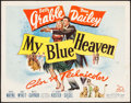 "Movie Posters:Musical, My Blue Heaven & Other Lot (20th Century Fox, 1950). HalfSheets (2) (22"" X 28""). Musical.. ... (Total: 2 Items)"