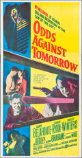 "Movie Posters:Crime, Odds Against Tomorrow (United Artists, 1959). Three Sheet (41"" X79""). Crime.. ..."