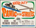 "Movie Posters:Film Noir, Panic in the Streets (20th Century Fox, 1950). Half Sheet (22"" X28""). Film Noir.. ..."