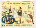"Movie Posters:Comedy, The Petty Girl (Columbia, 1950). Half Sheet (22"" X 28"") Style A.Comedy.. ..."