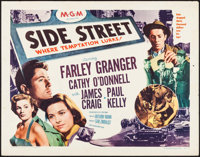 "Side Street (MGM, 1950). Half Sheets (2) (22"" X 28"") Styles A & B. Film Noir. ... (Total: 2 Items)"
