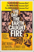 "Movie Posters:Science Fiction, The Day the Earth Caught Fire (Universal, 1962). One Sheet (27"" X41""). Science Fiction.. ..."
