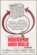 """Movie Posters:Crime, House of 1,000 Dolls (American International, 1967). One Sheet (27""""X 41""""). Crime.. ..."""