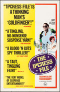 "Movie Posters:Thriller, The Ipcress File (Universal, 1965). One Sheet (27"" X 41"") ReviewStyle. Thriller.. ..."