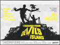 "Movie Posters:Action, I Escaped from Devil's Island (United Artists, 1974). British Quad(30"" X 40""). Action.. ..."
