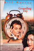 """Movie Posters:Comedy, Groundhog Day (Columbia, 1993). One Sheet (26.75"""" X 39.75"""") DS.Comedy.. ..."""