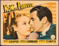 "Movie Posters:Drama, Now and Forever (Paramount, 1934). Lobby Card (11"" X 14""). Drama....."