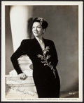 """Movie Posters:Miscellaneous, Gale Sondergaard in The Spider Woman (Universal, 1943). AutographedPortrait Photo with Envelope (8"""" X 10""""). Film No..."""