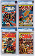 Bronze Age (1970-1979):Adventure, Conan the Barbarian CGC-Graded Group of 5 (Marvel, 1973-97).... (Total: 5 Comic Books)