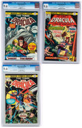 Bronze Age (1970-1979):Horror, Tomb of Dracula #36, 38, and 41 Group (Marvel, 1975-76).... (Total:3 Comic Books)
