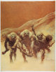 Frank Frazetta Creepy and Eerie Magazine-Cover Prints Group of 19 (1960s).... (Total: 19 Items)