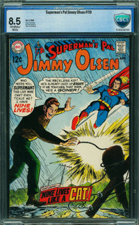 Superman's Pal Jimmy Olsen #119 - CBCS CERTIFIED (DC, 1969) CGC VF+ 8.5 Off-white to white pages