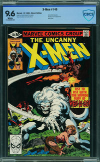 X-Men #140 - CBCS CERTIFIED (Marvel, 1980) CGC NM+ 9.6 White pages