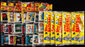 Baseball Cards:Unopened Packs/Display Boxes, 1982-87 Topps Unopened Rack Packs Lot of 35....