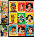 Baseball Cards:Lots, 1956-59 Topps Stars & HoFers Collection (25).. ...