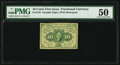 Fractional Currency:First Issue, Fr. 1242 10¢ First Issue PMG About Uncirculated 50.. ...