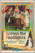 "Movie Posters:Drama, Across the Footlights (Universal, 1915). One Sheet (27.5"" X41.25""). Drama.. ..."