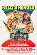 "Movie Posters:War, Kelly's Heroes (MGM, R-1970). One Sheet (27"" X 41""). War.. ..."