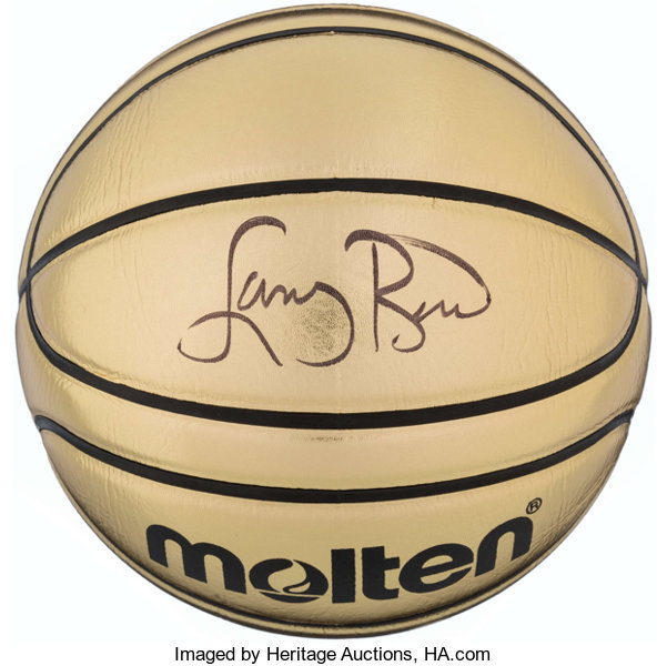 on sale ba327 f3a68 Larry Bird Signed Basketball. . ... Basketball Collectibles ...