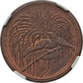 German New Guinea:German Colony, German New Guinea: German Colony. Wilhelm II 10 Pfennig 1894-A MS64 Red and Brown NGC,...