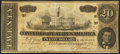 Confederate Notes, T67 $20 1864 PF-1 Cr. 504.. ...