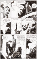 "Original Comic Art:Panel Pages, Mike Mignola Hellboy Trade Paperback #2 ""Wake the Devil""Epilogue Page 2 Original Art (Dark Horse, 1997)...."