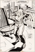 Original Comic Art:Splash Pages, George Tuska and Vince Colletta Power Man #19 Splash Page 14 Original Art (Marvel, 1974)....