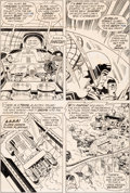 Original Comic Art:Panel Pages, Jack Kirby, Vince Colletta, and Murphy Anderson Superman's Pal,Jimmy Olsen #144 Story Page ...