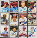 Autographs:Sports Cards, 1975-76 SSPC Baseball Signed Card Collection (220) With Stars andHoFers.. ...