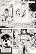 Original Comic Art:Panel Pages, Herb Trimpe and Joe Staton Incredible Hulk #191 Page 15Original Art (Marvel, 1975)....