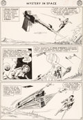 Original Comic Art:Panel Pages, Carmine Infantino and Murphy Anderson Mystery In Space #77Story Page 5 Adam Strange Original Art (DC, 1962)....