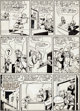 "Lou Fine The Spirit Weekly Newspaper Section Sunday Page 3 ""Youth Day"" Original Art dated 12-6-42 (Register an..."