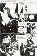 Original Comic Art:Panel Pages, Mike Mignola Hellboy: Conqueror Worm #3 Story Page 23Original Art (Dark Horse, 2001)....